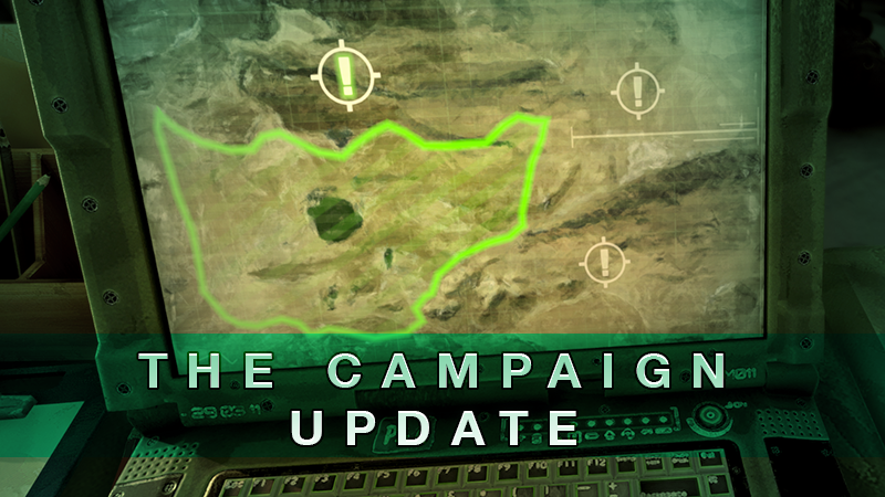 The Campaign Update Cover