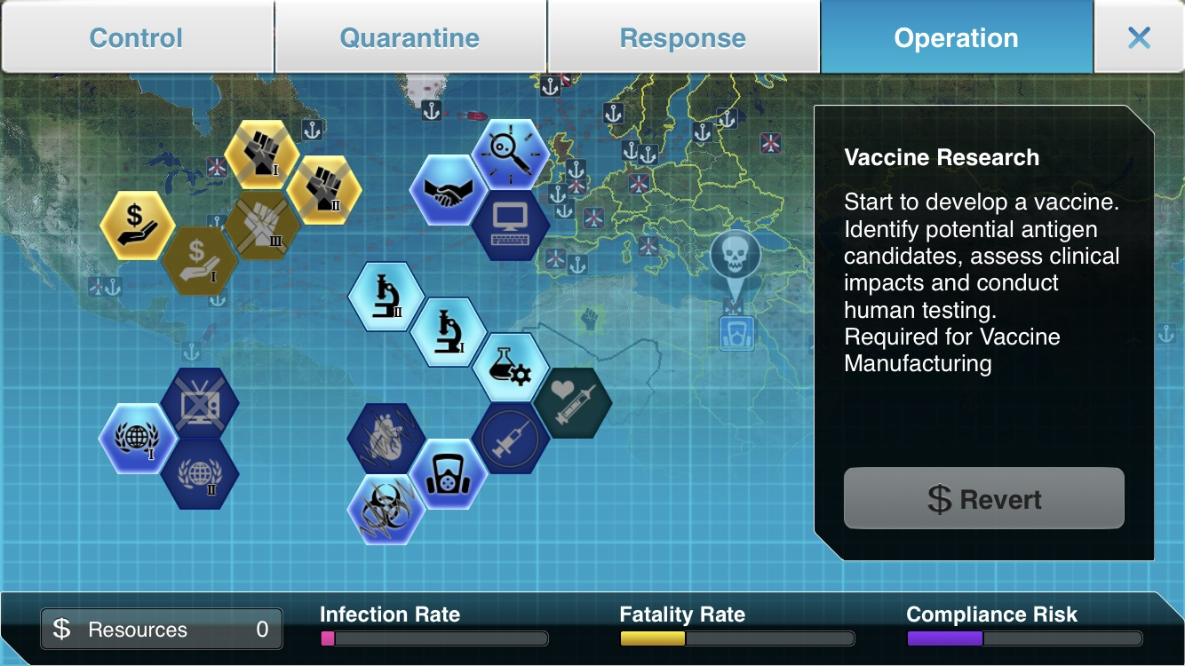 Plague Inc: The Cure Vaccine Development Screenshot
