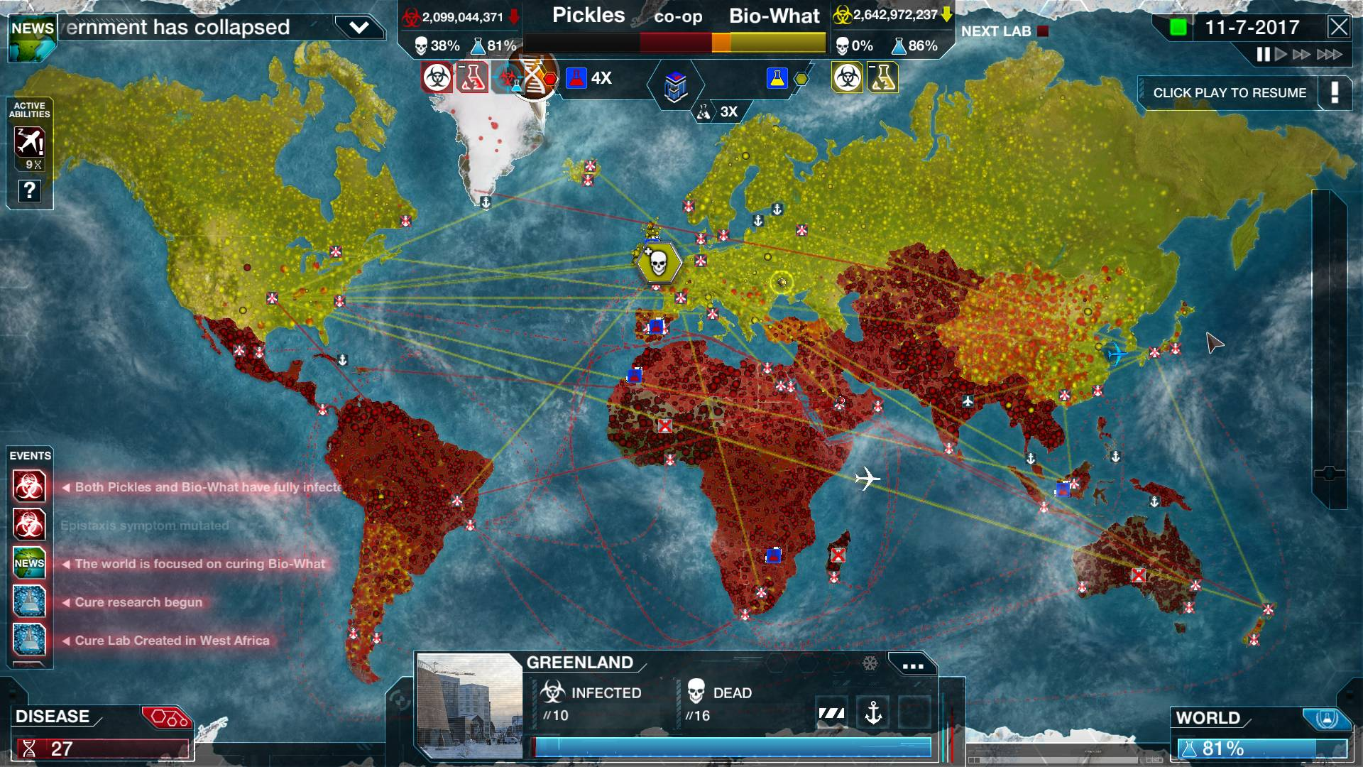 Image of: Plague Inc Evolved Is Leaving Early Access Version 1 0 Coming 18th February 2016 Ndemic Creations